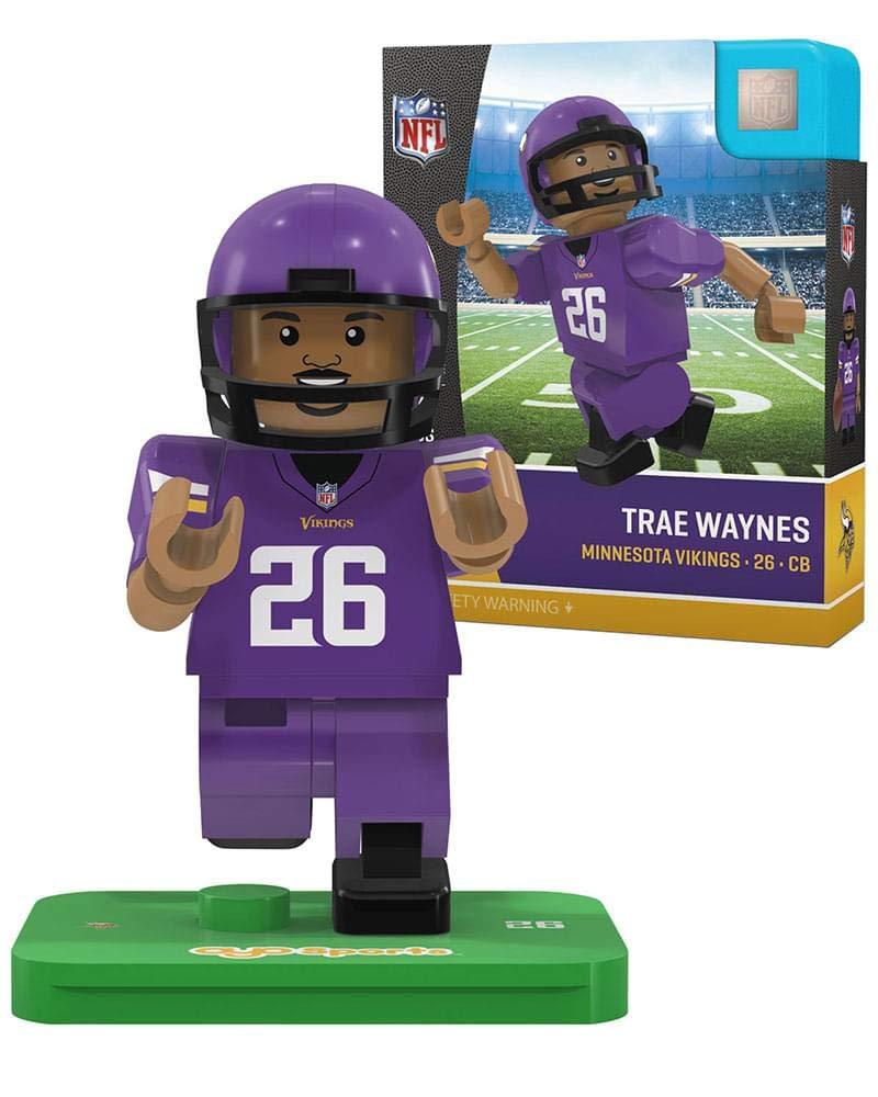 Oyo Sportstoys NFL Minnesota Vikings Sports Fan Bobble Head Toy Figures One Size Purple//Yellow