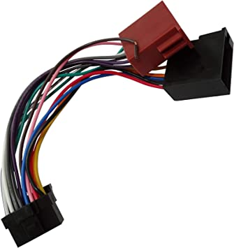 Aerzetix Iso Konverter Adapter Kabel Radioadapter Radio Kabel Stecker Iso Kabel Verbindungskabel Auto