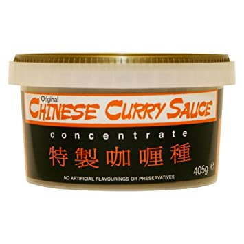 Goldfish Salsa De Curry Chino (405g) (Paquete de 6)
