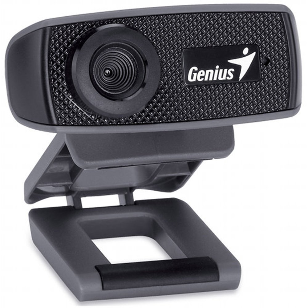 Genius FaceCam 1000X - Webcam (1 MP, 1280 x 720 Pixeles, 30 fps, USB 2.0, CMOS), color negro