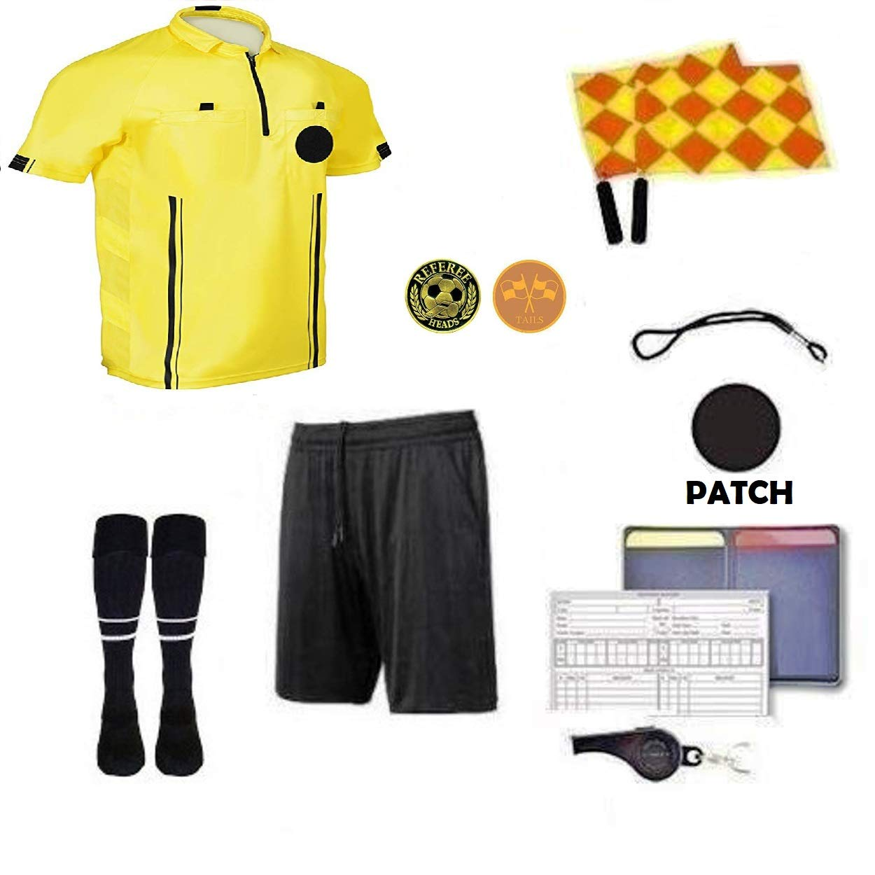 1 Stop Soccer 2017 Soccer Premium Referee 10 Piece Package by 1 Stop Soccer