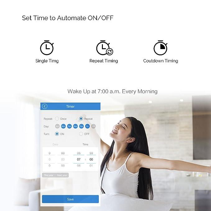 Sonoff T1 US: 2 Gang US AU Standard WiFi RF Smart Wall Touch Light Switch - - Amazon.com
