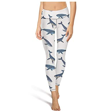 Dancing-Dolphin-Whales- Womens Printed Soft hot Yoga Pants ...