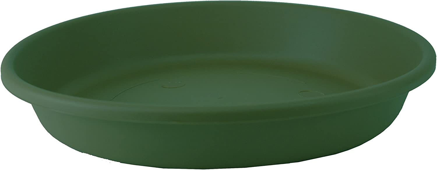 Akro Mils SLI20000B91 Classic Saucer for 20-Inch Classic Pot, Evergreen, 17.63-Inch