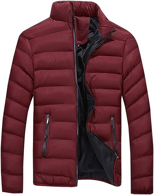 [Meilaifushi] ジャケット インナーカラー ジップアップ カラー ダウン アウトドア 若者 オシャレ 防寒 冬 メンズ アウトドア 冬 自転車 通学 通勤 保温 運動着