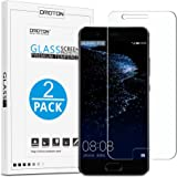 Huawei P10 Screen Protector [2 Pack] - OMOTON Tempered glass Screen Protector for Huawei P10 2017 with [Scratch-Resistant] [No-Bubble] [High Responsive]