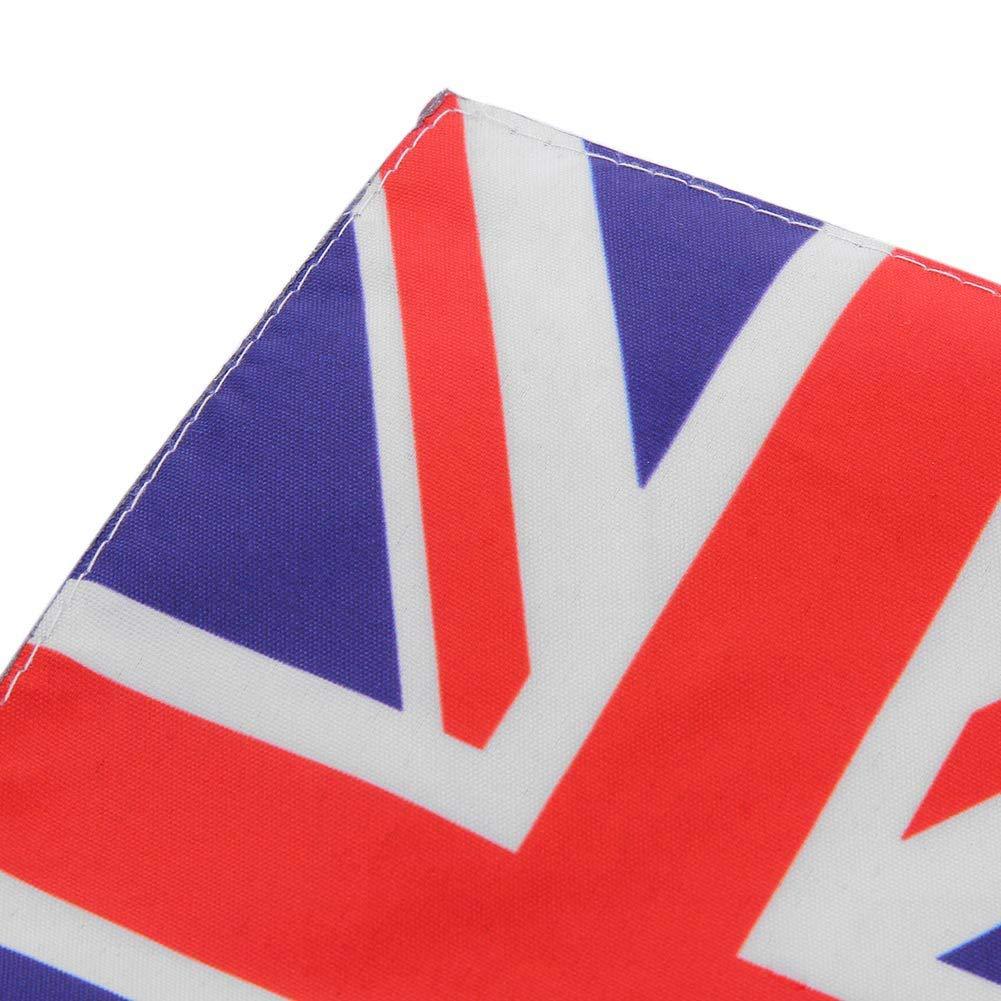 Ahomi Motorcycle Rear Luggage Rack Flag Pole UK Flag for Honda Goldwing GL 1800