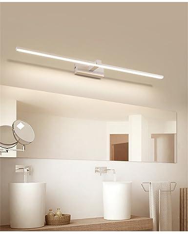 Spiegel Scheinwerfer Led Badezimmer Nordischer  Spiegel Kabinett Licht Moderner Einfacher  Spiegel Toilettenartikel Wasserdichte Badezimmer Wand Licht,Weiß ...