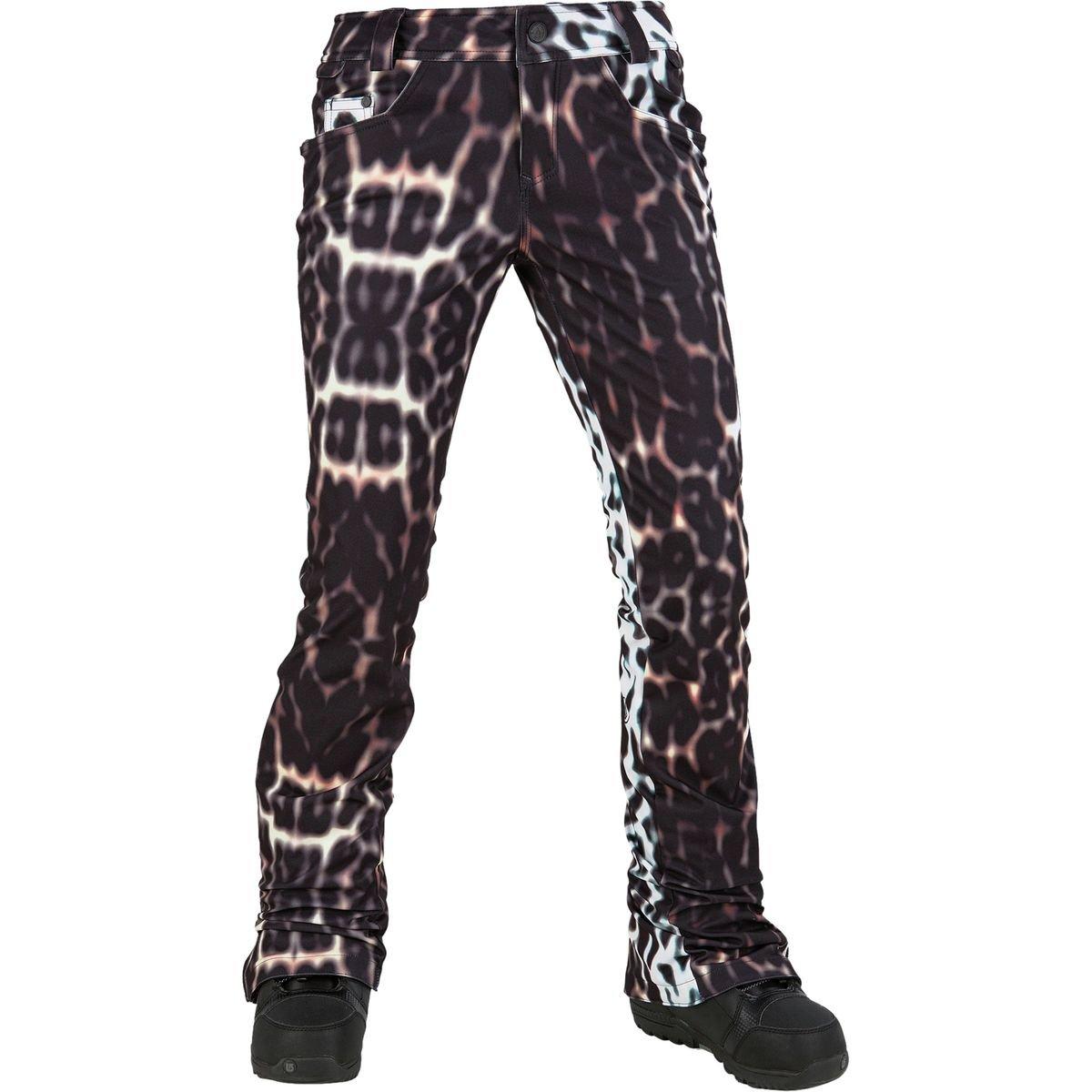 Volcom Snow Women's Battle Stretch Pants Cheetah Small