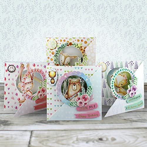 Hunkydory Crafts Foxy /& Friends Pop-Up Cards