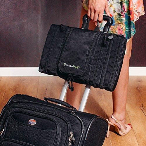 FLASH PURCHASE Premium Travel Kit: Hanging Toiletry Bag, Dopp Kit / Unisex... - 61vnRlRecDL