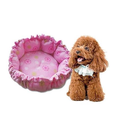 Weiwei Cama de Perro Pequeñas Mascotas camadas Mat Cat Nido