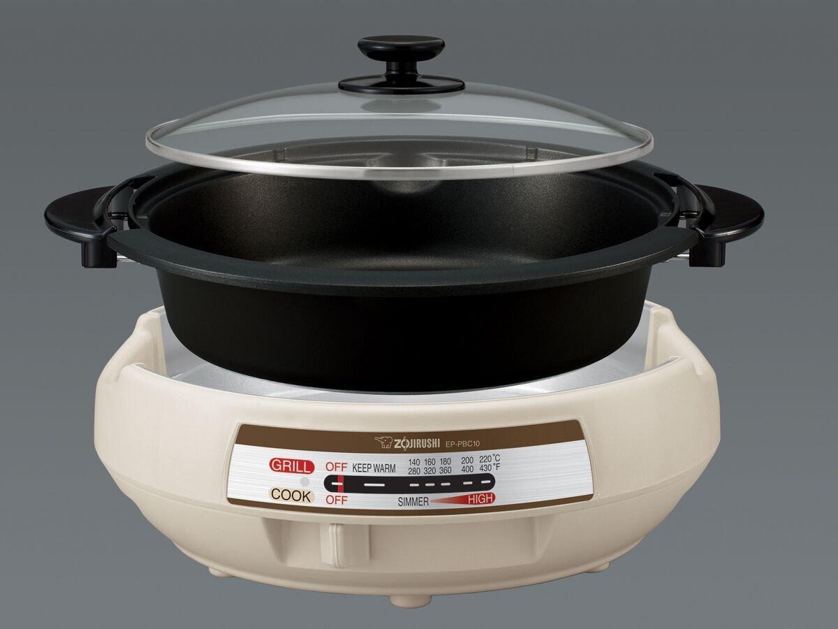 Zojirushi Ep Pbc10 Gourmet D Expert Electric Skillet Ebay