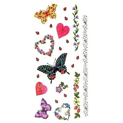 Oottati Tatouages Temporaires Agreable Bracelet Fleur D Amour 2