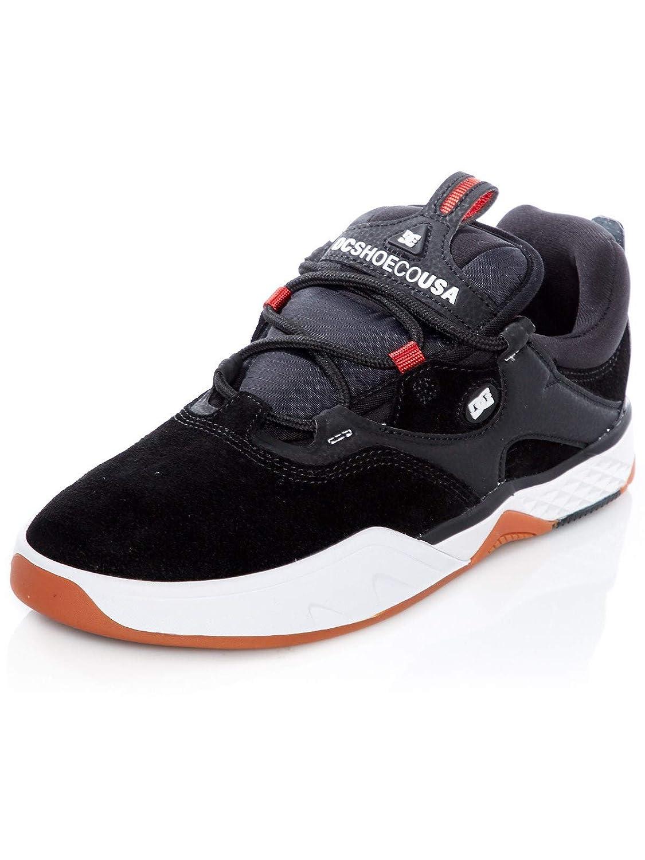 DC schwarz weiß rot Josh Kalis Signature Skate Series Schuhe
