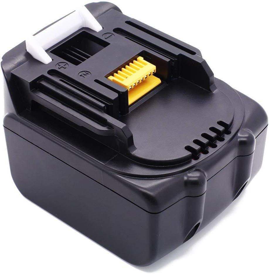 Bater/ía de iones de litio para Makita BL1430 BL1440 BL1450 BL1460 194558-0 194559-8 2 unidades, 14,4 V, 3000 mAh