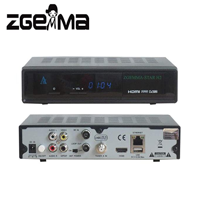 1PC Zgemma star H2, upgraded from Cloud ibox 3: Amazon co uk