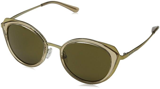 Michael Kors 0MK1029, Gafas de sol para Mujer, Shiny Pale ...