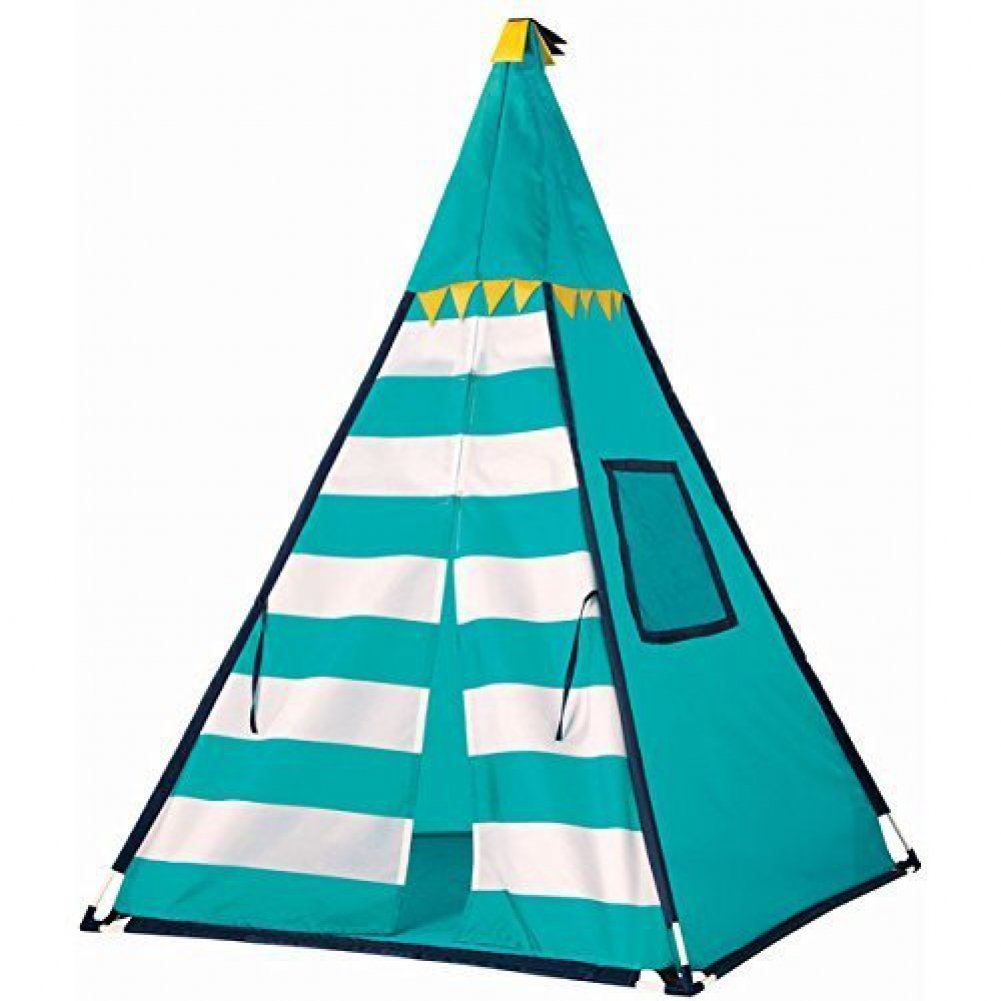 Amazon.com Discovery Kids Turquoise Adventure Teepee Tent Toys u0026 Games  sc 1 st  Amazon.com : discovery kids adventure play tent - memphite.com