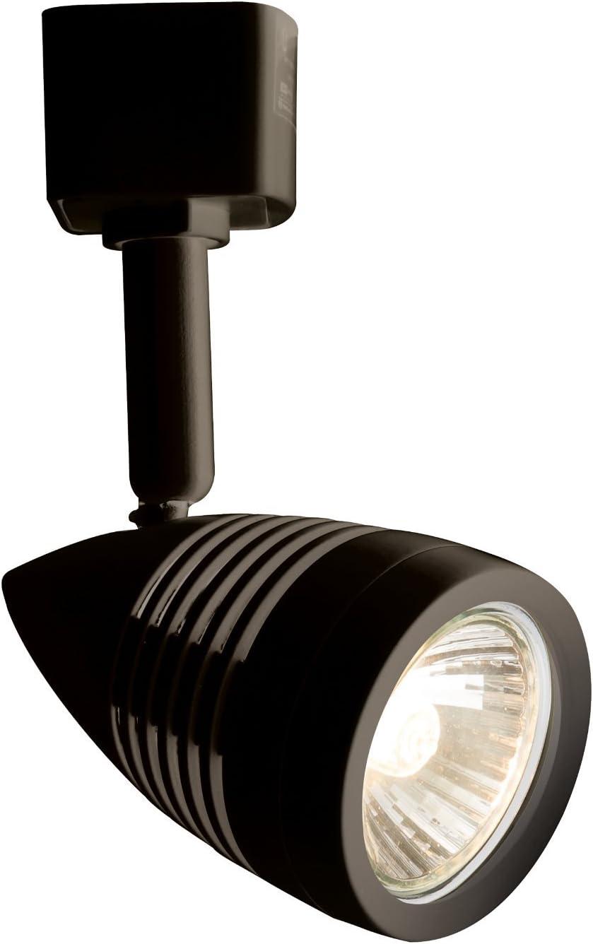 Knightsbridge 230v GU10 Track Spotlight 50w Max Black