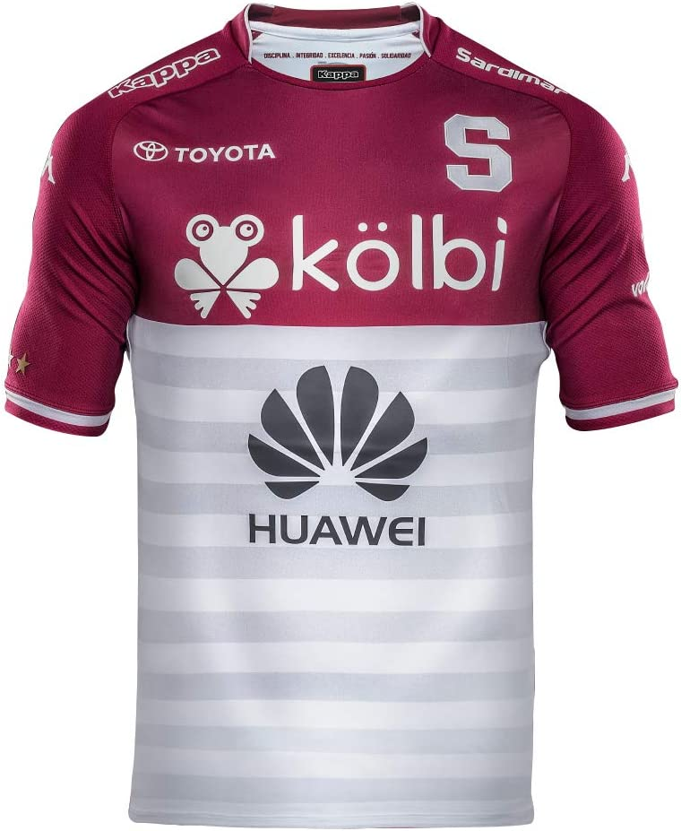 Saprissa - Home and Away Traditional Costa Rica Team Soccer Jersey - 2019 Kappa Original Men and Youth Equipment