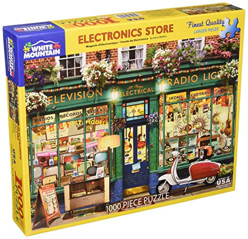 es Electronic Store Jigsaw Puzzle, Multicolor ()