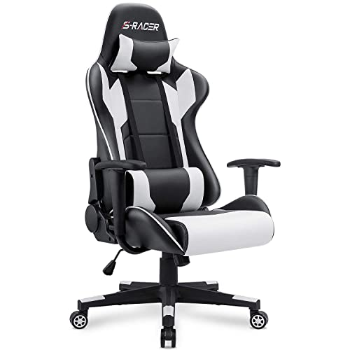Homall Gaming Chair Office Chair High Back Computer Chair PU Leather
