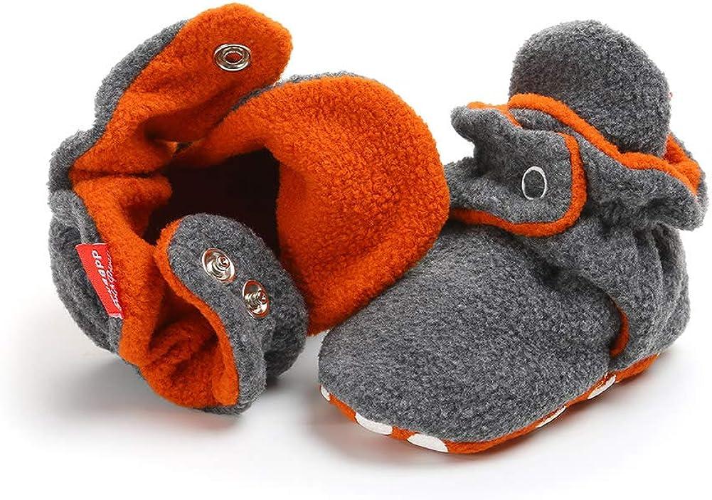 MK MATT KEELY Chaussons B/éb/é Chaussures B/éb/é Pantoufles Premiers Pas Chaussons B/éb/é Fille et Gar/çon