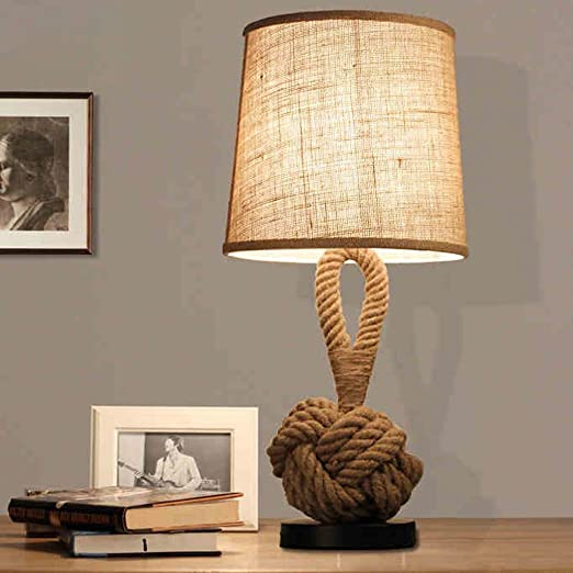 New lamps creative rope lamp study personality bedside lamp bedroom new lamps creative rope lamp study personality bedside lamp bedroom living room european style table mozeypictures Gallery