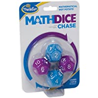 Think Fun Math Dice Chase Action Game