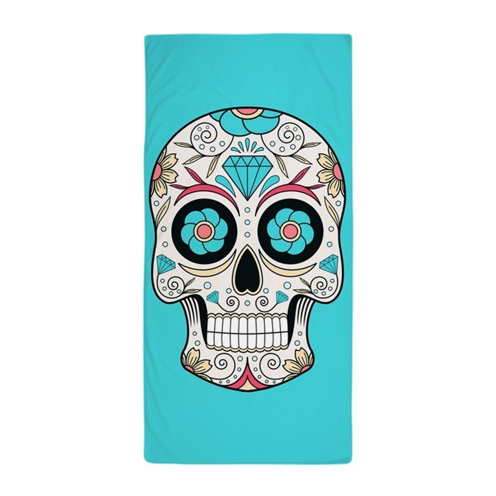 Amazon.com: CafePress - Sugar Skull - Large Beach Towel, Soft 30\
