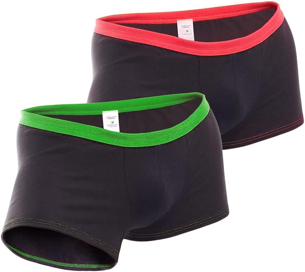 Hipster von HIS 5 Stück bequeme Unterhosen Po-betonend weicher Bund Short Boxer