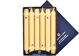 product image for Colonial Candle Limoncello 8 Inch Classic Taper Dinner Candles