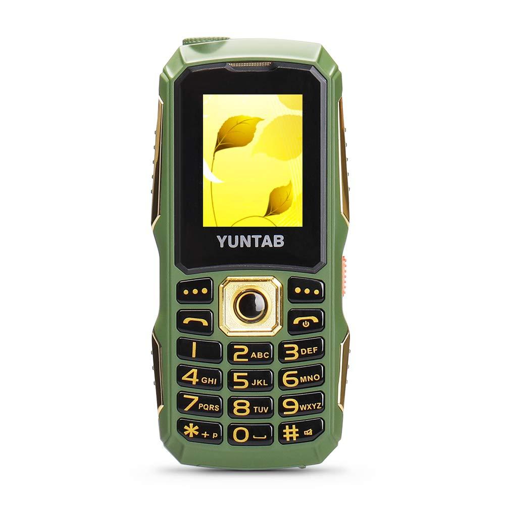 YUNTAB C12 Teléfonos móviles para personas mayores GSM 2G botón...