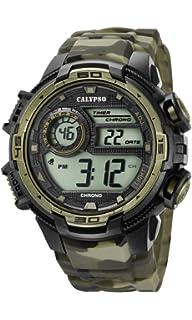 Calypso Reloj Digital para Hombre de Cuarzo con Correa en Plástico K5723/6