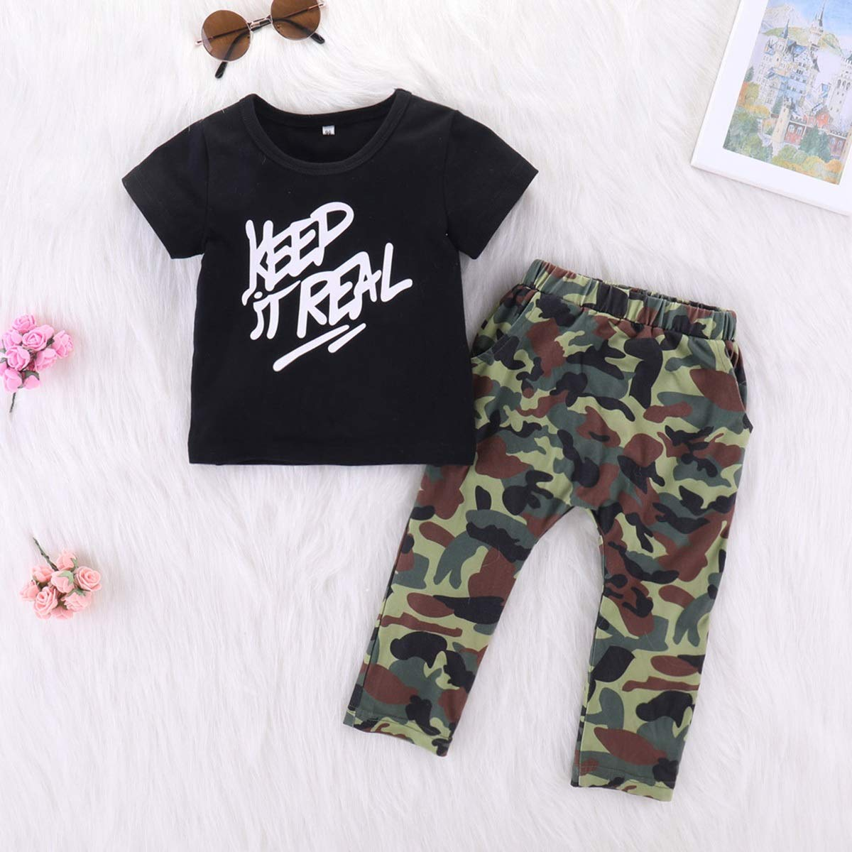 Kleinkind Baby Boy Sommer Gentleman Kleidung Set-Pants Shirt Tops Outfits