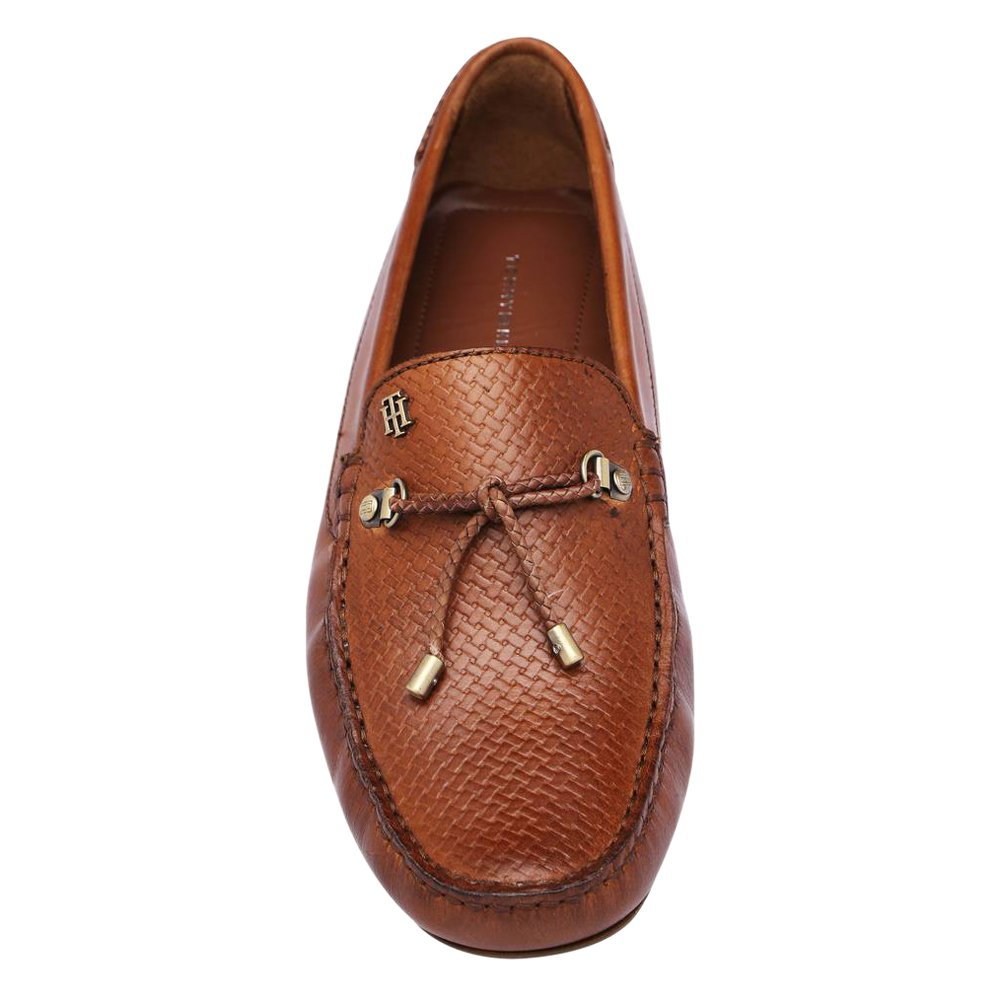 3a80e4f0e43 Tommy Hilfiger Men s Tan Loafers-10.5 UK India (45 EU)(A7AMF154)  Buy Online  at Low Prices in India - Amazon.in