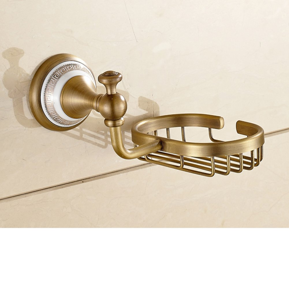 best European gold Towel rack/Single bar Towel rack/ all-copper-gold-plated pendant-J