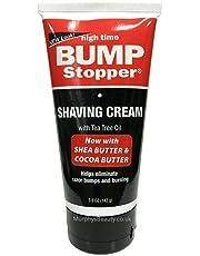 High Time Bump Stopper Shaving Cream W/Tea Tree Oil 5oz Tube