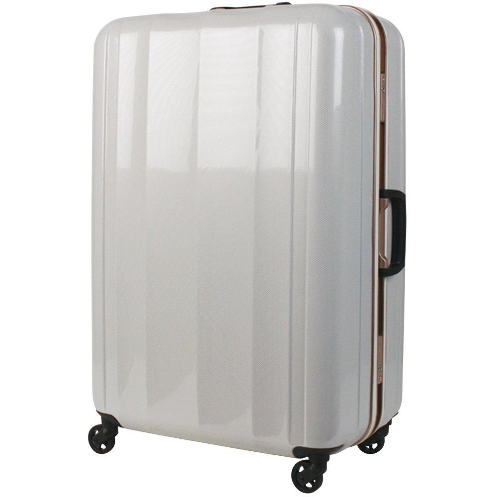 [レジェンドウォーカー] legend walker 超軽量スーツケース ライトニングネオ(LIGHTNING NEO) Lサイズ B00MVEG1TC ホワイトカーボン ホワイトカーボン