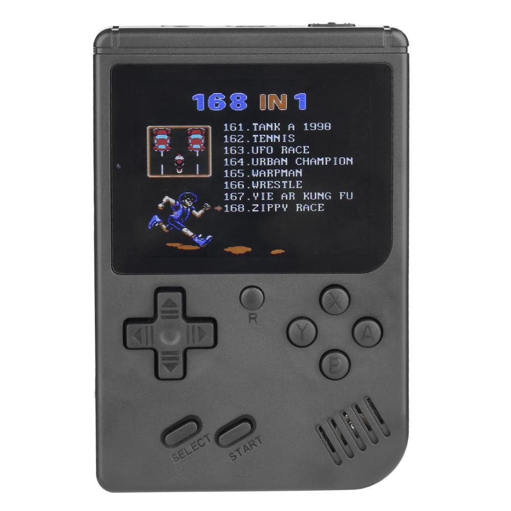 Retro Video Game Console Handheld Mini 2 3 Inch TFT Screen 128M Memory Built-in 168 Video Games Emulator