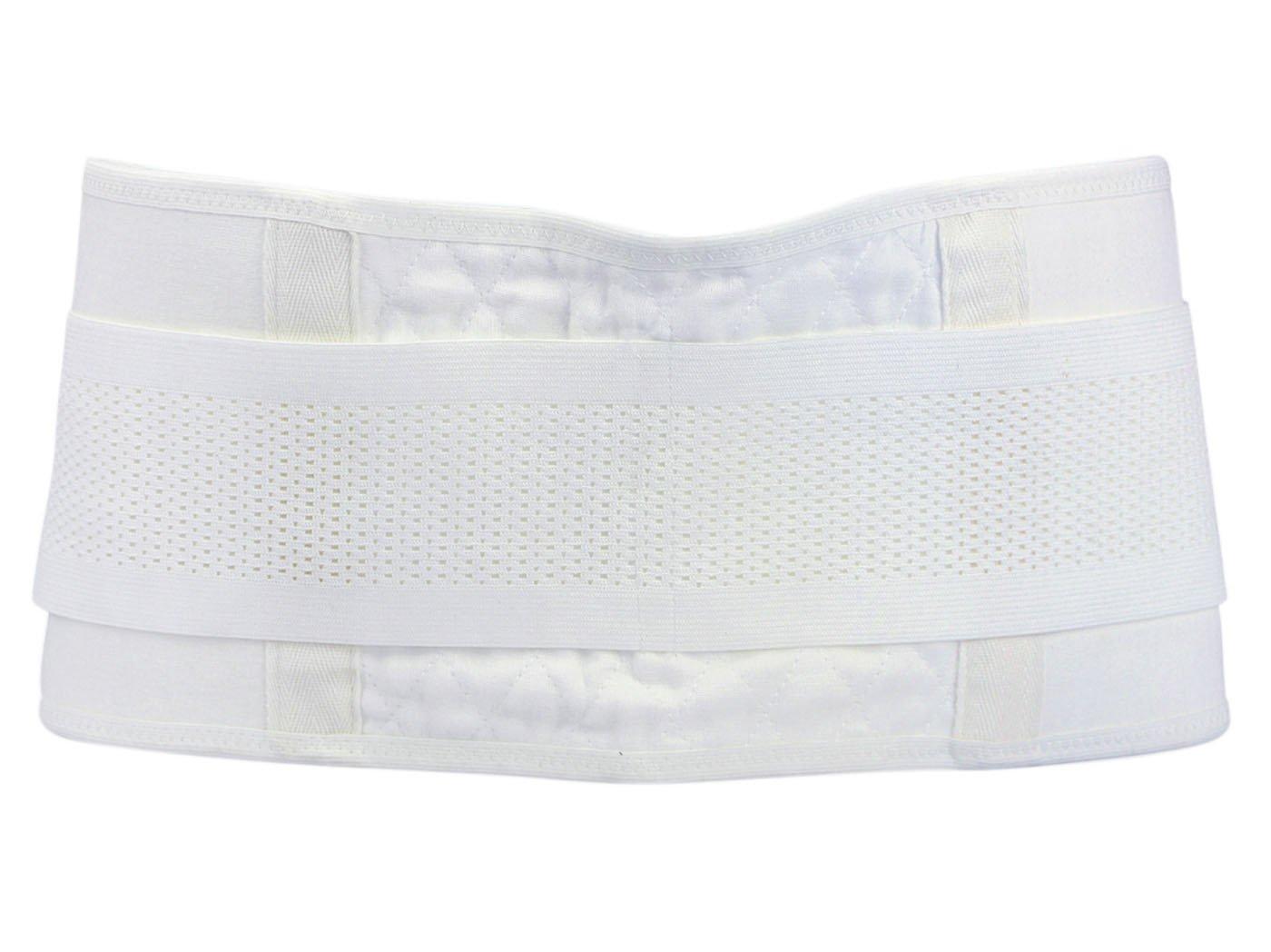 Feoya Mujer Postnatal Faja Reductora de Pelvis Moldeadora Cinturón de Compresión para Postparto Recuperación Color Blanco - Talla M
