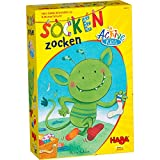 HABA Socken Zocken Active Kids - A monstrously Quick Movement Game for Ages 5+ (Made in Germany)
