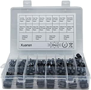 Amazon.com: Electrolytic Capacitor 1uF 10uf 100uf 1000uF 6