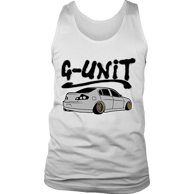 29258285154101 Infiniti G35 G-Unit JDM Nissan Skyline VQ Tank Top at Amazon Men s Clothing  store