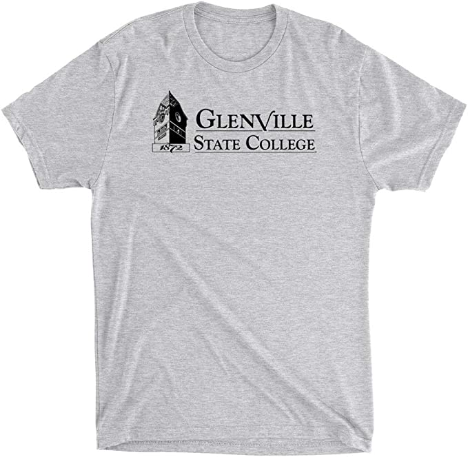 Official NCAA Glenville State College Pioneers PPGSC04 Mens//Womens Premium Triblend T-Shirt