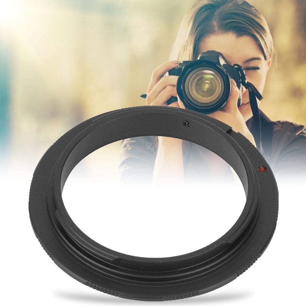 Vbestlife Lens Reverse Adapter Ring Durable Aluminium Alloy Macro Shooting Reverse Adapter Ring for Canon EOS Mount DSLR Camera 58mm