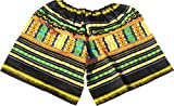 Product review for Raan Pah Muang Brand Childrens Elastic Waist Thai Cotton Dashiki Shorts