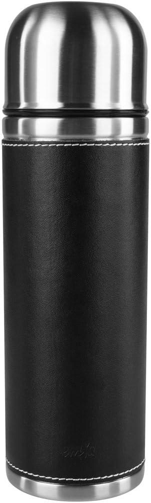 "Emsa""Senator Class"" 23.7 oz Vacuum Drinking Flask, Black"