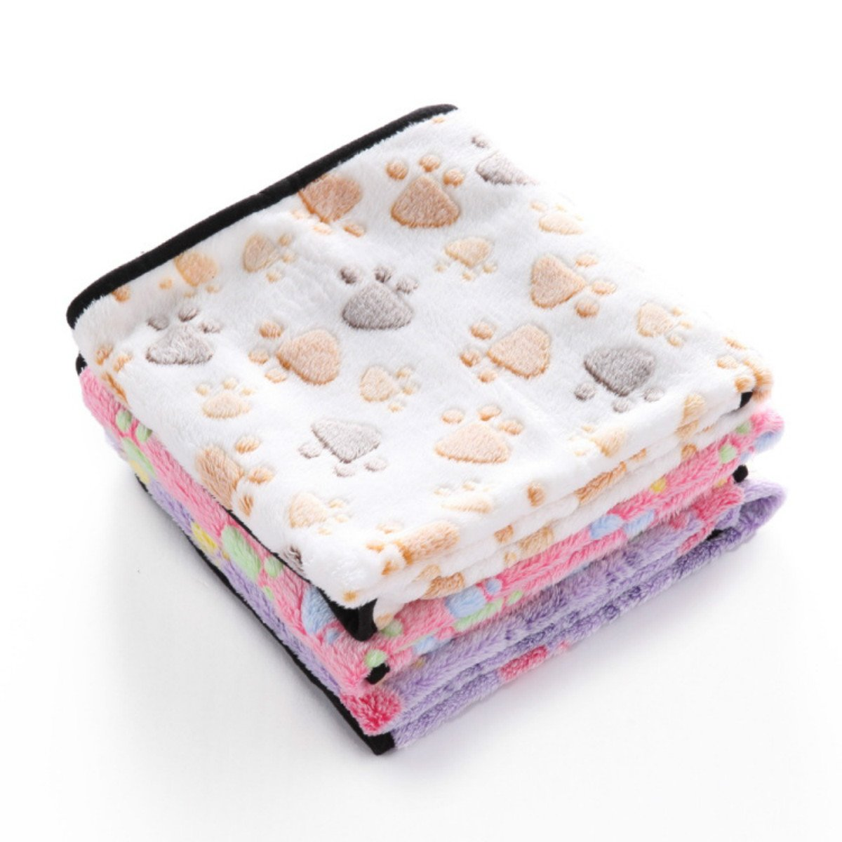PetBoBo Pet Dog Cat Puppy Blanket Warm Dog Cat Warm Blankets Pet Sleep Mat Pad Bed Cover, Soft Blanket for Pet, Super Soft Micro Plush Pet Blanket Cushion Mat for Animals by PetBoBo (Image #6)